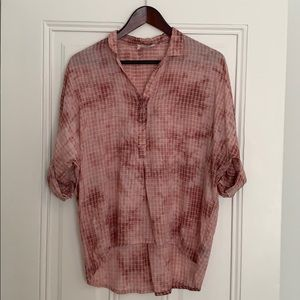 Anthropologie Holding Horses Popover Top - S